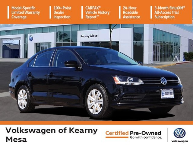 Certified Pre-Owned 2017 Volkswagen Jetta S w/ Manual Transmission