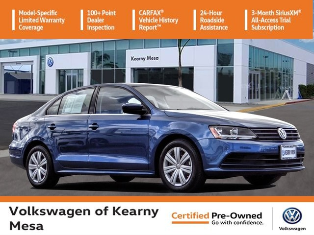 Certified Pre-Owned 2017 Volkswagen Jetta S w/Manual Transmission
