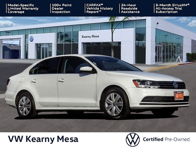Certified Pre-Owned 2017 Volkswagen Jetta S w / Manual Transmission