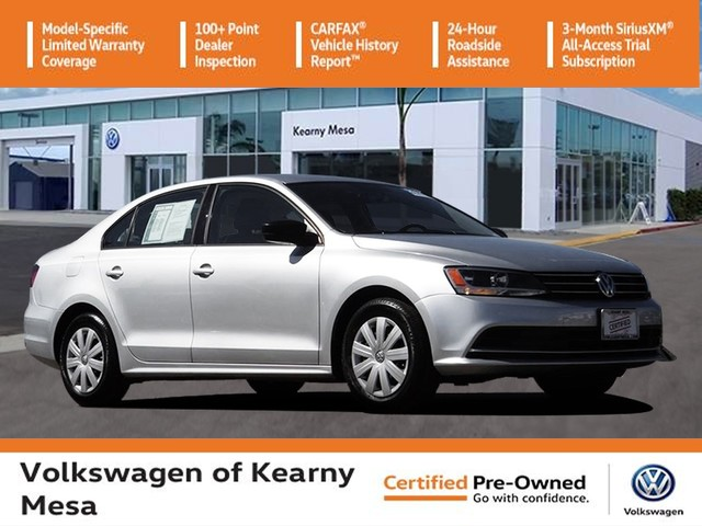 Certified Pre-Owned 2016 Volkswagen Jetta S w/Technology