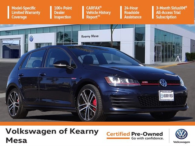 Certified Pre-Owned 2017 Volkswagen Golf GTI Sport
