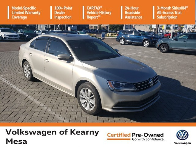 Pre-Owned 2016 Volkswagen Jetta SE w/Connectivity