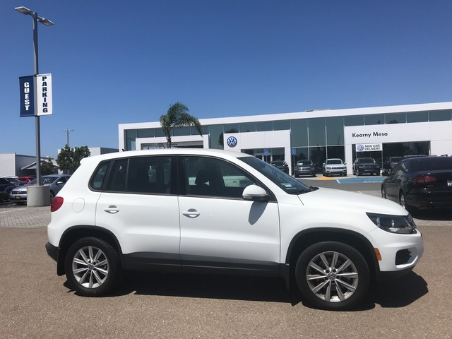 Certified Pre-Owned 2017 Volkswagen Tiguan Limited Edition
