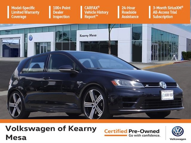 Certified Pre-Owned 2016 Volkswagen Golf R DYNAMIC CHASSIS CONTROL & NAVIGATION