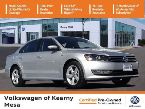 Certified Pre-Owned 2015 Volkswagen Passat Limited Edition