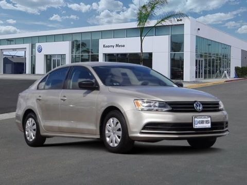 Certified Pre-Owned 2016 Volkswagen Jetta Sedan 1.4T S w/Tech