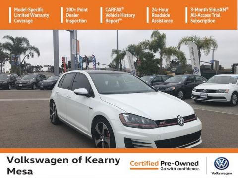 Certified Pre-Owned 2016 Volkswagen Golf GTI Autobahn w/Performance Pkg
