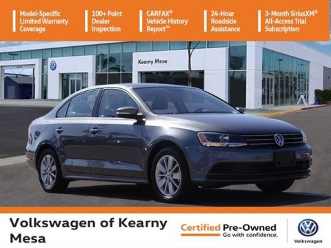 Certified Pre-Owned 2015 Volkswagen Jetta SE w/Connectivity